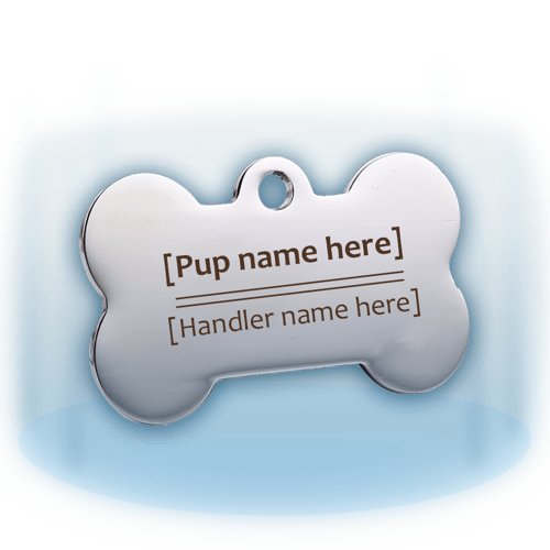 Custom Puppy Tags